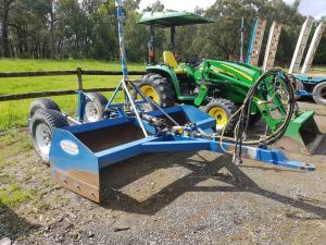 Tractor  Laser Scraper