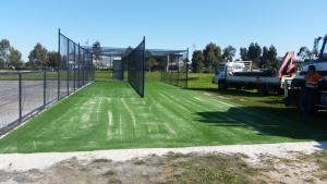 Soccer pitch construction 168