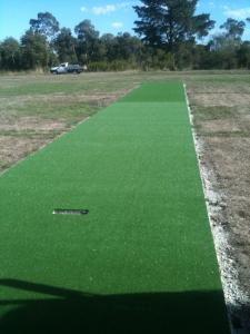 Soccer pitch construction 496